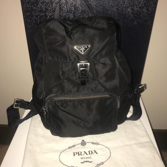 Authentic Prada velo backpack nylon. M 5b4828b8d6dc521dc5d77125 e4f08eb00b